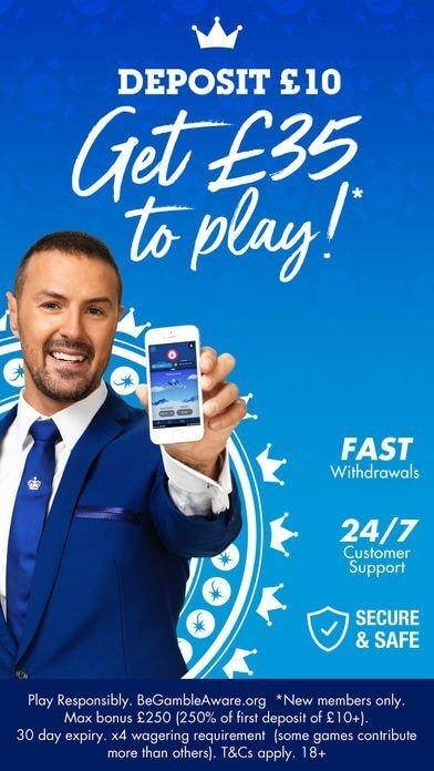 mobile app JackpotJoy