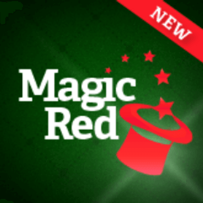 Magic Red Bonus Code: 100% up to £25 + 25 Free Spins