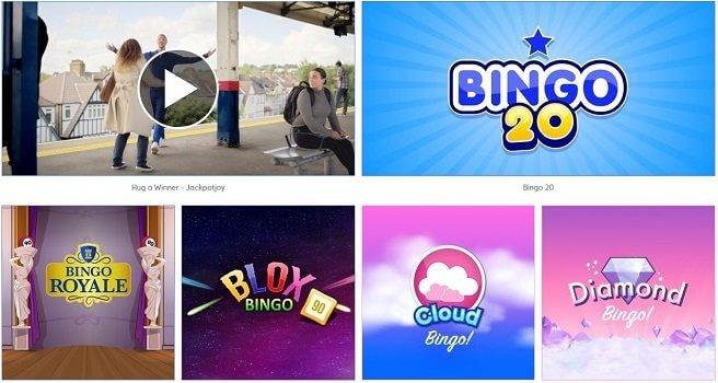 jackpotjoy bingo games