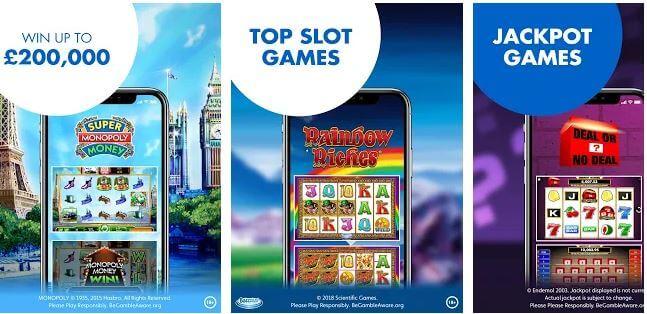 Jackpotjoy mobile games