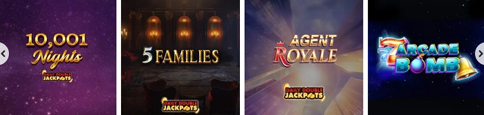 Jackpotjoy Daily Double Jackpots
